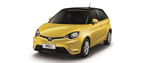 Mitsubishi Mirage 2016 VS MG 3